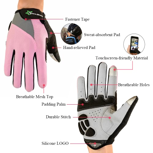 ROCKBROS Unisex Breathable Cycling Gloves Full Finger Gloves Thermal Gloves Touch Screen Gloves Motorcycling Skiing Hiking OutdoorSports &amp; Outdoor<br>ROCKBROS Unisex Breathable Cycling Gloves Full Finger Gloves Thermal Gloves Touch Screen Gloves Motorcycling Skiing Hiking Outdoor<br>