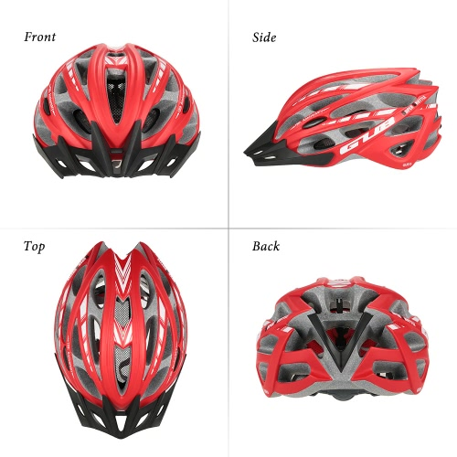 GUB Ultra-lightweight Integrated In-mold Bicycling Biking Bicycle Helmet Roller Skating Protective Helmet Skating Helmet 30 VentsSports &amp; Outdoor<br>GUB Ultra-lightweight Integrated In-mold Bicycling Biking Bicycle Helmet Roller Skating Protective Helmet Skating Helmet 30 Vents<br>