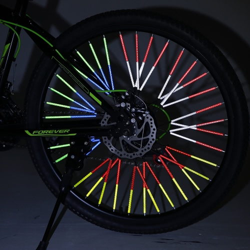 12PCS Bicycle Bike Wheel Spokes Reflective Sticks Tube Safe Cycling Spoke Reflector Safety Clip Wheel Reflective Tube Bicycle DecoSports &amp; Outdoor<br>12PCS Bicycle Bike Wheel Spokes Reflective Sticks Tube Safe Cycling Spoke Reflector Safety Clip Wheel Reflective Tube Bicycle Deco<br>
