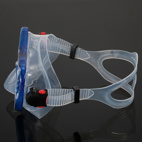 Men's Women's Anti-fog UV400 Protection Single Window Diving Mask Snorkeling Mask Scuba Swimming Mask Goggle Tempered Glass Lens FSports &amp; Outdoor<br>Men's Women's Anti-fog UV400 Protection Single Window Diving Mask Snorkeling Mask Scuba Swimming Mask Goggle Tempered Glass Lens F<br>