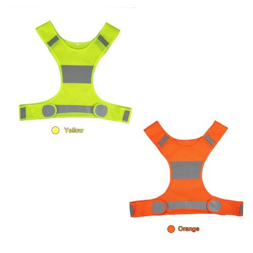 Outdoor Sports Running Reflective Vest Adjustable Lightweight Safety Gear for Women Men Jogging Cycling WalkingSports &amp; Outdoor<br>Outdoor Sports Running Reflective Vest Adjustable Lightweight Safety Gear for Women Men Jogging Cycling Walking<br>