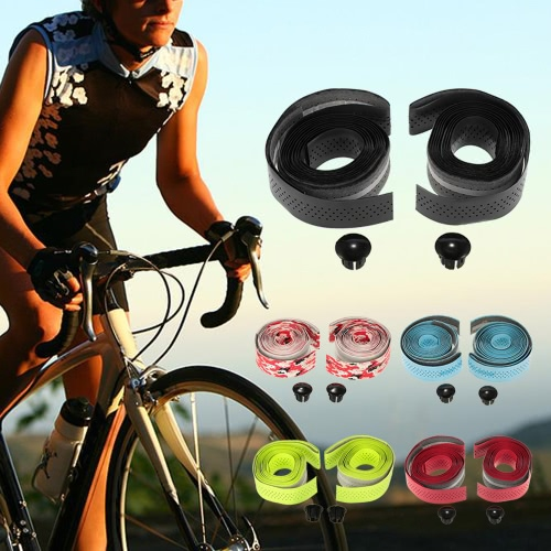 GUB 2pcs Washable Breathable Bike Bicycle Cycling Handlebar Bar Wrap Tapes Decoration Wet PU with End Caps Plugs Secure GripsSports &amp; Outdoor<br>GUB 2pcs Washable Breathable Bike Bicycle Cycling Handlebar Bar Wrap Tapes Decoration Wet PU with End Caps Plugs Secure Grips<br>