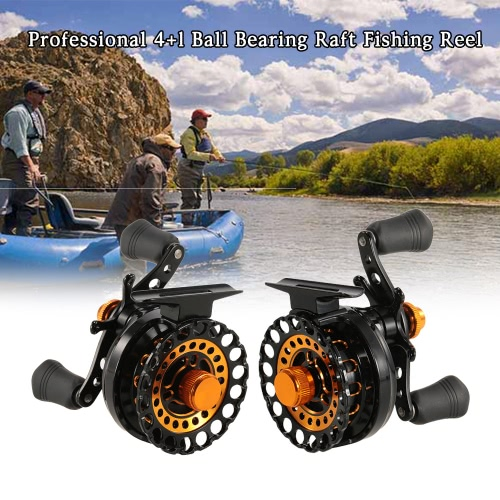 ?4+1 BB Ball Bearing 2.8:1 Gear Ratio Raft Fishing Reel Fly Reel Wheel Right/Left Hand Ice Fishing Reel Smooth Release Star Drag FSports &amp; Outdoor<br>?4+1 BB Ball Bearing 2.8:1 Gear Ratio Raft Fishing Reel Fly Reel Wheel Right/Left Hand Ice Fishing Reel Smooth Release Star Drag F<br>