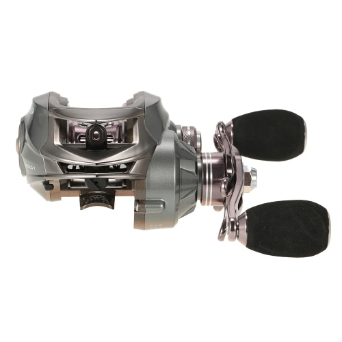 12+1 Ball Bearings Left/Right Handed Baitcasting Reel 6.3:1 Low Profile Baitcast Fishing Reel Ultra Smooth Dual Braking SystemSports &amp; Outdoor<br>12+1 Ball Bearings Left/Right Handed Baitcasting Reel 6.3:1 Low Profile Baitcast Fishing Reel Ultra Smooth Dual Braking System<br>
