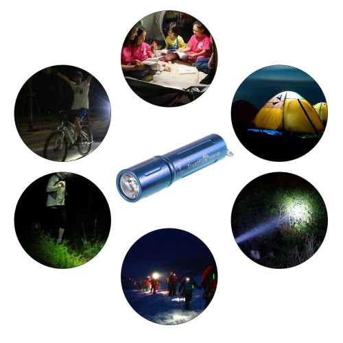 TrustFire Portable 90LM Flashlight Compact Keychain Lamp Light Mini Torch Pocket Penlight for Camping Running Cycling WalkingSports &amp; Outdoor<br>TrustFire Portable 90LM Flashlight Compact Keychain Lamp Light Mini Torch Pocket Penlight for Camping Running Cycling Walking<br>