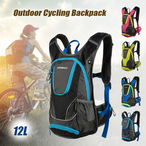 12L Water-resistant Breathable Cycling Bicycle Bike Shoulder Backpack Ultralight Outdoor Sports Riding Travel Mountaineering HydraSports &amp; Outdoor<br>12L Water-resistant Breathable Cycling Bicycle Bike Shoulder Backpack Ultralight Outdoor Sports Riding Travel Mountaineering Hydra<br>