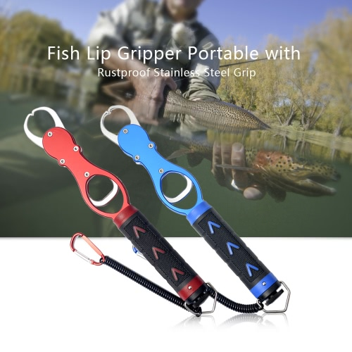 Lixada Portable Stainless Steel Fish Lip Grip Fishing Grabber Strong Professional Fishing Gripper Trigger for FishermanSports &amp; Outdoor<br>Lixada Portable Stainless Steel Fish Lip Grip Fishing Grabber Strong Professional Fishing Gripper Trigger for Fisherman<br>