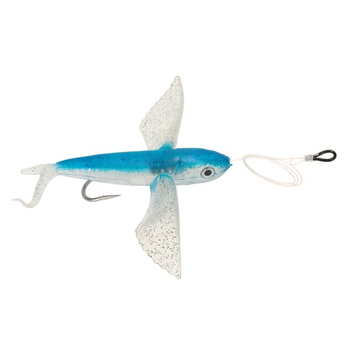 21cm Seawater Big Soft Fishing Lure Flying Fishing Lure Deep Water Soft Bait Artificial Bait with HookSports &amp; Outdoor<br>21cm Seawater Big Soft Fishing Lure Flying Fishing Lure Deep Water Soft Bait Artificial Bait with Hook<br>