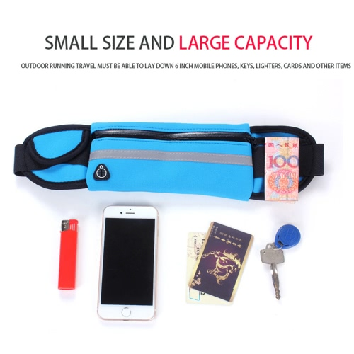 New Diving Fabric Outdoor Sports Anti Theft Slim Running Cell Phone Waterproof Waist Bag Multifunctional Belt Pockets CaseSports &amp; Outdoor<br>New Diving Fabric Outdoor Sports Anti Theft Slim Running Cell Phone Waterproof Waist Bag Multifunctional Belt Pockets Case<br>