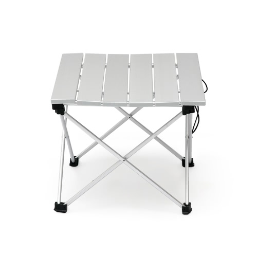 Aluminum Folding Collapsible Camping Table with Carrying Bag for Outdoor Indoor Picnic Beach Hiking Travel Fishing ActivitiesSports &amp; Outdoor<br>Aluminum Folding Collapsible Camping Table with Carrying Bag for Outdoor Indoor Picnic Beach Hiking Travel Fishing Activities<br>