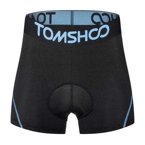 TOMSHOO Mens 3D Padded Bicycle Cycling Underwear Breathable Lightweight Bike Riding Cycling Shorts UnderpantsSports &amp; Outdoor<br>TOMSHOO Mens 3D Padded Bicycle Cycling Underwear Breathable Lightweight Bike Riding Cycling Shorts Underpants<br>