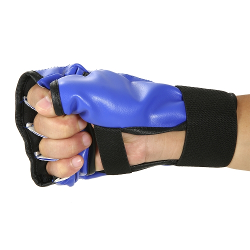 1 Pair Boxing Gloves Half Mitts Striking Sparring Gloves Fist Protector Taekwondo Muay Punching Bag Boxing Gym Training GearSports &amp; Outdoor<br>1 Pair Boxing Gloves Half Mitts Striking Sparring Gloves Fist Protector Taekwondo Muay Punching Bag Boxing Gym Training Gear<br>