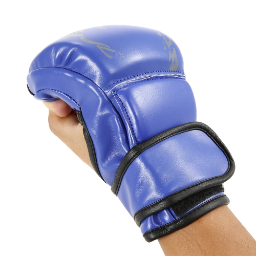 1 Pair Boxing Gloves Grapple Gloves Striking Sparring Gloves  Half Mitts Fist Protector Taekwondo Muay Punching Bag Boxing Gym TraSports &amp; Outdoor<br>1 Pair Boxing Gloves Grapple Gloves Striking Sparring Gloves  Half Mitts Fist Protector Taekwondo Muay Punching Bag Boxing Gym Tra<br>
