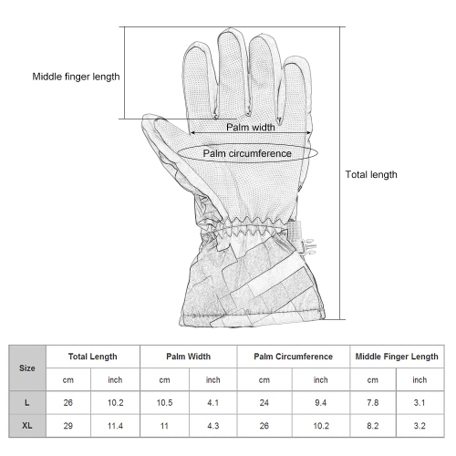 Outdoor Winter Warm Ski Gloves Windproof Thermal Warm Gloves Cycling Snowboard Snow Gloves for Men WomenSports &amp; Outdoor<br>Outdoor Winter Warm Ski Gloves Windproof Thermal Warm Gloves Cycling Snowboard Snow Gloves for Men Women<br>
