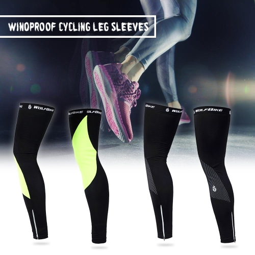 Unisex Windproof Thermal Fleece Cycling Leg Warmers Compression Sleeves Winter Outdoor Sport Mountain Road Bike Bicycle Riding LegSports &amp; Outdoor<br>Unisex Windproof Thermal Fleece Cycling Leg Warmers Compression Sleeves Winter Outdoor Sport Mountain Road Bike Bicycle Riding Leg<br>