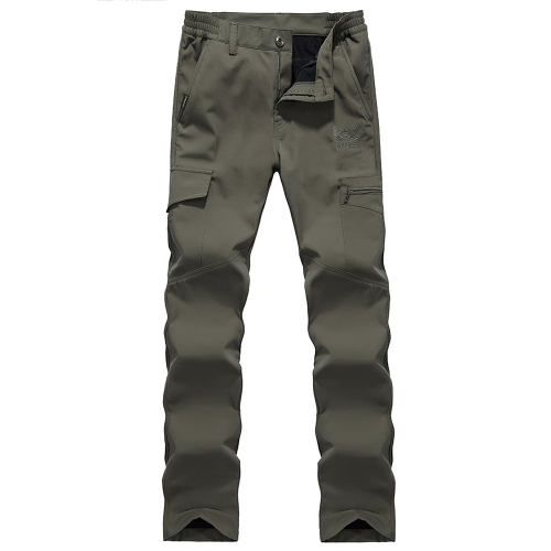 Mens Outdoor Sport Windproof Pants Fleece Lined Winter Warm Quick Drying Pants Trousers Camping Hiking Climbing Fishing MountainSports &amp; Outdoor<br>Mens Outdoor Sport Windproof Pants Fleece Lined Winter Warm Quick Drying Pants Trousers Camping Hiking Climbing Fishing Mountain<br>