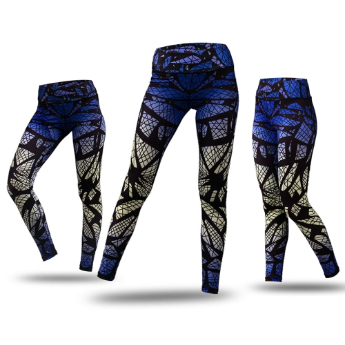 Womens Printed Compression Yoga Pants Active Workout Leggings Stretch TightsSports &amp; Outdoor<br>Womens Printed Compression Yoga Pants Active Workout Leggings Stretch Tights<br>