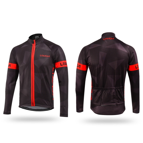 Lixada Mens Winter Thermal Fleece Cycling Clothing Set Long Sleeve Windproof Cycling Jersey Coat Jacket with 3D Padded Pants TrouSports &amp; Outdoor<br>Lixada Mens Winter Thermal Fleece Cycling Clothing Set Long Sleeve Windproof Cycling Jersey Coat Jacket with 3D Padded Pants Trou<br>