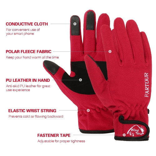 Winter Warm Soft Touch Screen GlovesSports &amp; Outdoor<br>Winter Warm Soft Touch Screen Gloves<br>