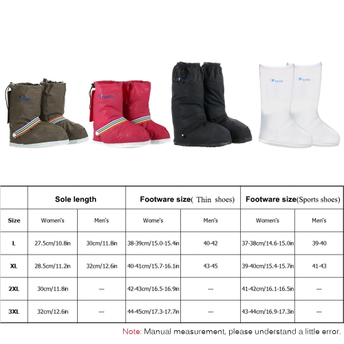 Unisex Waterproof Shoes CoverSports &amp; Outdoor<br>Unisex Waterproof Shoes Cover<br>