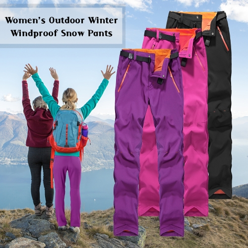 Womens Winter Warm Fleece Pants Outdoor Windproof Waterproof Snow Pants Trousers Skiing Fishing Camping Hiking Mountain ClimbingSports &amp; Outdoor<br>Womens Winter Warm Fleece Pants Outdoor Windproof Waterproof Snow Pants Trousers Skiing Fishing Camping Hiking Mountain Climbing<br>
