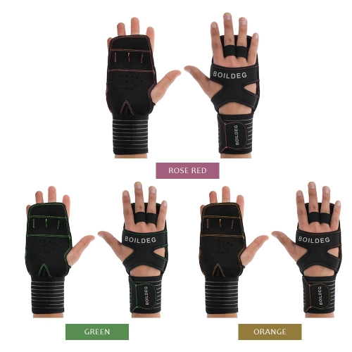 Cross Training Gloves with Wrist Support Wrist Wrap Fitness Gloves for Fitness Weightlifting Powerlifting Suits Men and WomenSports &amp; Outdoor<br>Cross Training Gloves with Wrist Support Wrist Wrap Fitness Gloves for Fitness Weightlifting Powerlifting Suits Men and Women<br>
