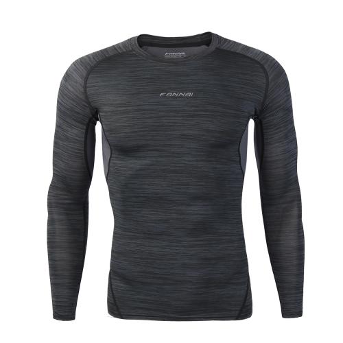 フィットネススポーツウェアバギータイツロングスリーブトップ通気性速乾バスケットボールランニングTシャツ