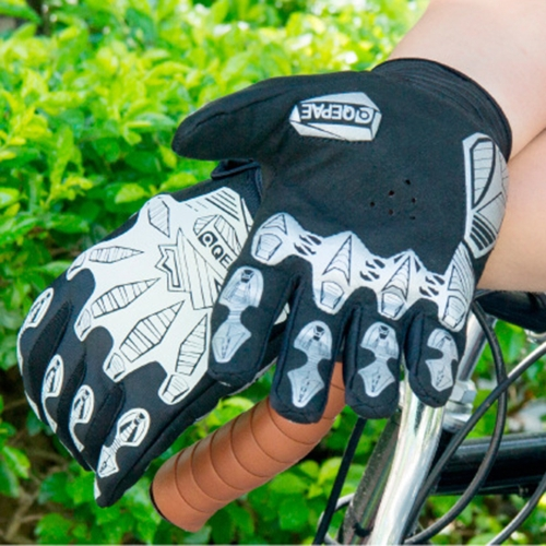 230006 Nights Reflective Full Finger Breathable Riding GlovesSports &amp; Outdoor<br>230006 Nights Reflective Full Finger Breathable Riding Gloves<br>