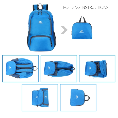 Lightweight Packable Backpack Water-resistant Foldable Travel Backpack Daypack Bag Outdoor Sport Camping Hiking CyclingSports &amp; Outdoor<br>Lightweight Packable Backpack Water-resistant Foldable Travel Backpack Daypack Bag Outdoor Sport Camping Hiking Cycling<br>