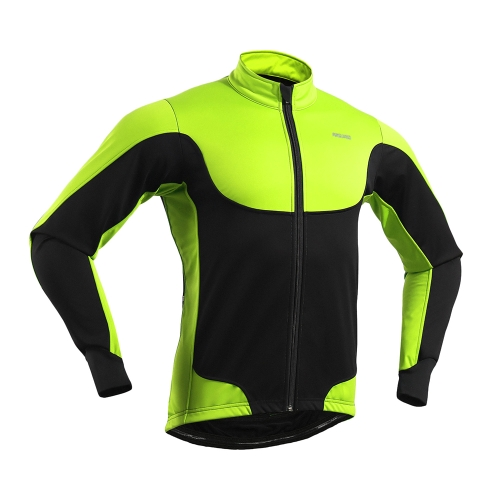 Arsuxeo Mens Windproof Thermal Fleece Lined Winter Cycling Jacket Outdoor Sport Coat Riding Long Sleeve JerseySports &amp; Outdoor<br>Arsuxeo Mens Windproof Thermal Fleece Lined Winter Cycling Jacket Outdoor Sport Coat Riding Long Sleeve Jersey<br>
