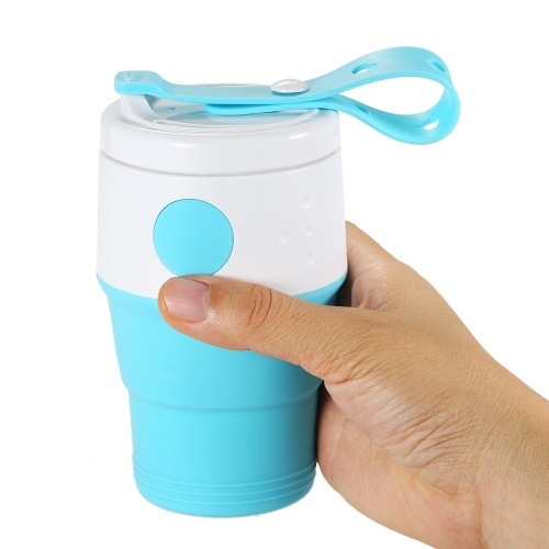 XND-C03 395ML Collapsible Stretchy Expandable Coffee CupSports &amp; Outdoor<br>XND-C03 395ML Collapsible Stretchy Expandable Coffee Cup<br>
