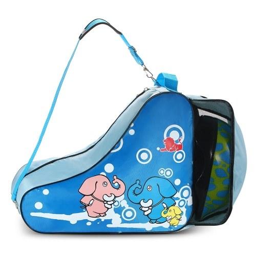 La borsa a tracolla portatile di pattinaggio a rotelle pattina l'ingranaggio protettivo del casco che trasporta la cassa