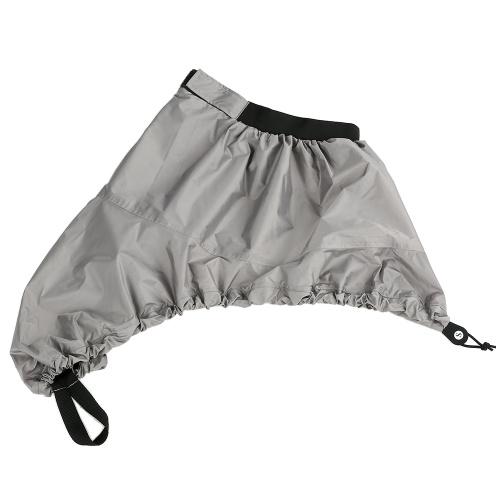 Universal Adjustable Sport Waterproof Nylon Kayak Spray Skirt Deck Sprayskirt Cover