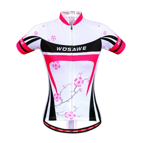 Women Breathable Outdoor Short Sleeve MTB Cycling JerseySports &amp; Outdoor<br>Women Breathable Outdoor Short Sleeve MTB Cycling Jersey<br>