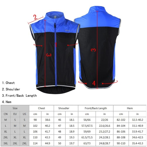ARSUXEO Mens Ultrathin Lightweight Sleeveless Coat Jacket Running Cycling VestSports &amp; Outdoor<br>ARSUXEO Mens Ultrathin Lightweight Sleeveless Coat Jacket Running Cycling Vest<br>