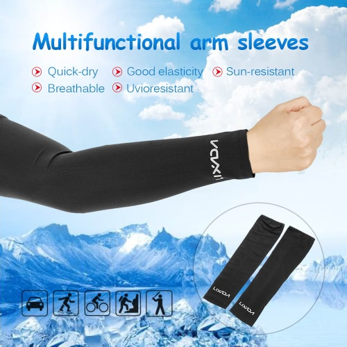 Lixada Unisex Outdoor Sports Quick-dry Breathable Arm Sleeves Sun-resistant Arm Protective Sleeves for Bicycle Cycling &amp; RunningSports &amp; Outdoor<br>Lixada Unisex Outdoor Sports Quick-dry Breathable Arm Sleeves Sun-resistant Arm Protective Sleeves for Bicycle Cycling &amp; Running<br>