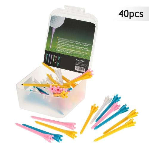 40Pcs 85mm/3.3 Plastic Rocket Golf Tees Golfer Aid ToolSports &amp; Outdoor<br>40Pcs 85mm/3.3 Plastic Rocket Golf Tees Golfer Aid Tool<br>
