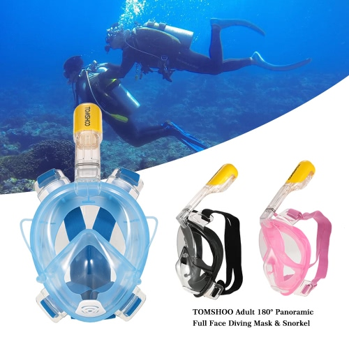 TOMSHOO Adult Male Swimming Diving Snorkel MaskSports &amp; Outdoor<br>TOMSHOO Adult Male Swimming Diving Snorkel Mask<br>