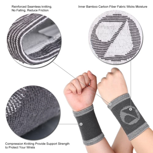 1 Pair of Sports Compression Wrist Support Brace Pads Winter Autumn Wrist Warmer Support Protector Sleeve Gym Use Wrist Sprain GuaSports &amp; Outdoor<br>1 Pair of Sports Compression Wrist Support Brace Pads Winter Autumn Wrist Warmer Support Protector Sleeve Gym Use Wrist Sprain Gua<br>
