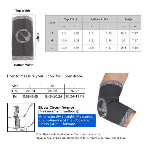 1pcs Lightweight Breathable Bamboo Carbon Fiber Sports Elbow Pad Protector Elastic Support Warmer Football Mountaineering FootballSports &amp; Outdoor<br>1pcs Lightweight Breathable Bamboo Carbon Fiber Sports Elbow Pad Protector Elastic Support Warmer Football Mountaineering Football<br>