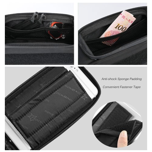 """ROCKBROS Water-resistant Cycling Bicycle Bike Top Front Tube Frame Bag Water Resistant Touchscreen Phone Holder Case for 5.8""""/6.0""""Sports &amp; Outdoor<br>ROCKBROS Water-resistant Cycling Bicycle Bike Top Front Tube Frame Bag Water Resistant Touchscreen Phone Holder Case for 5.8""""/6.0""""<br>"""