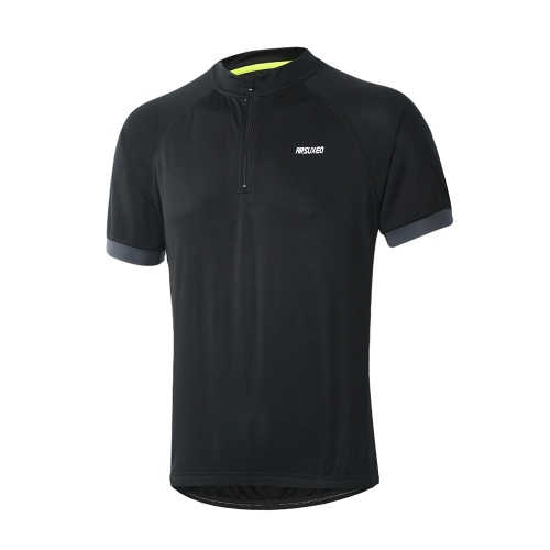 Arsuxeo Men Running T-Shirt Quick Dry Breathable Sports Shirt Outdoor Short Sleeve Sportswear Cycling JerseySports &amp; Outdoor<br>Arsuxeo Men Running T-Shirt Quick Dry Breathable Sports Shirt Outdoor Short Sleeve Sportswear Cycling Jersey<br>