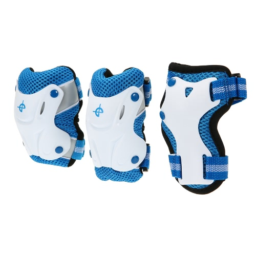 6PCS/Set 3 in 1 Kids' Skating Protective Gear Set Knee and Elbow Pads Bicycle Skateboard Ice Skating Roller Knee ProtectorSports &amp; Outdoor<br>6PCS/Set 3 in 1 Kids' Skating Protective Gear Set Knee and Elbow Pads Bicycle Skateboard Ice Skating Roller Knee Protector<br>