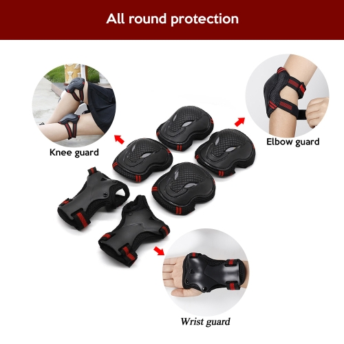 Lixada 6PCS Brace Kids Youth Cycling  Roller Skating  Skateboard Elbow knee Hands Safety Protection Guard Pads SetSports &amp; Outdoor<br>Lixada 6PCS Brace Kids Youth Cycling  Roller Skating  Skateboard Elbow knee Hands Safety Protection Guard Pads Set<br>