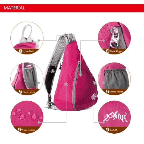 Packable Shoulder Backpack Folding Sling Chest CrossBody Bag Cover Pack Rucksack for Bicycle Sport Hiking Travel Camping Bookbag MSports &amp; Outdoor<br>Packable Shoulder Backpack Folding Sling Chest CrossBody Bag Cover Pack Rucksack for Bicycle Sport Hiking Travel Camping Bookbag M<br>