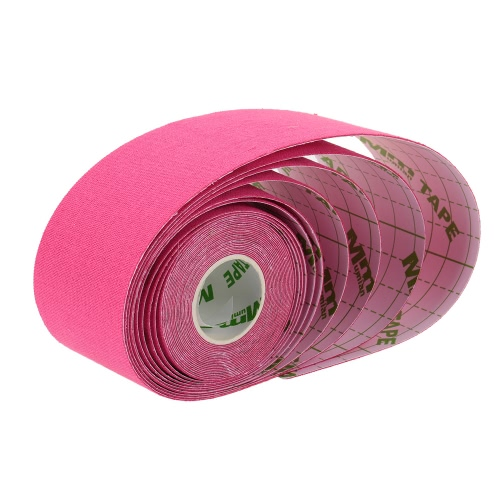 5M*5CM Breathable Elastic Cotton Kinesiology Tape Roll Sports Muscle Tape Adhesive Knee Muscles Care Bandage Tape Strap Fitness StSports &amp; Outdoor<br>5M*5CM Breathable Elastic Cotton Kinesiology Tape Roll Sports Muscle Tape Adhesive Knee Muscles Care Bandage Tape Strap Fitness St<br>