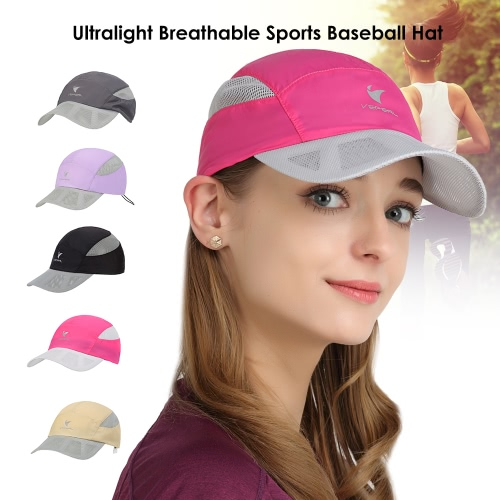 VEPEAL Unisex Quick-drying Mesh Baseball Sun Cap Outdoor Lightweight UV Protection Sports HatSports &amp; Outdoor<br>VEPEAL Unisex Quick-drying Mesh Baseball Sun Cap Outdoor Lightweight UV Protection Sports Hat<br>