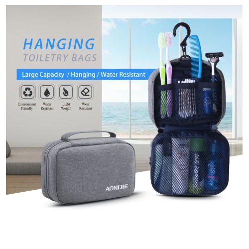 AONIJIE Hanging Travel Toiletry Bag Wash Storage Pouch Cosmetic Organizer HandbagSports &amp; Outdoor<br>AONIJIE Hanging Travel Toiletry Bag Wash Storage Pouch Cosmetic Organizer Handbag<br>