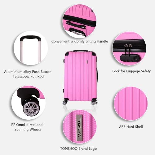 TOMSHOO Fashion 3PCS Luggage SetSports &amp; Outdoor<br>TOMSHOO Fashion 3PCS Luggage Set<br>