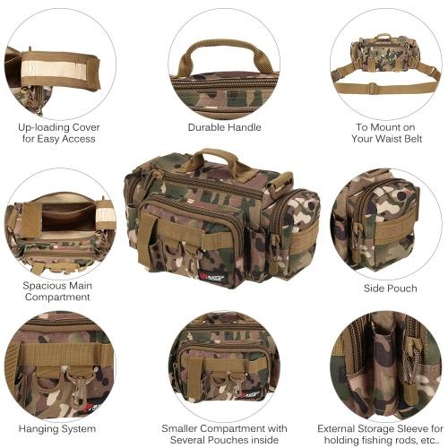 Multifunctional Fishing Bag Fishing Tackle Bag Waist Bag Bait Box Bag Boat Bag Pouch CaseSports &amp; Outdoor<br>Multifunctional Fishing Bag Fishing Tackle Bag Waist Bag Bait Box Bag Boat Bag Pouch Case<br>